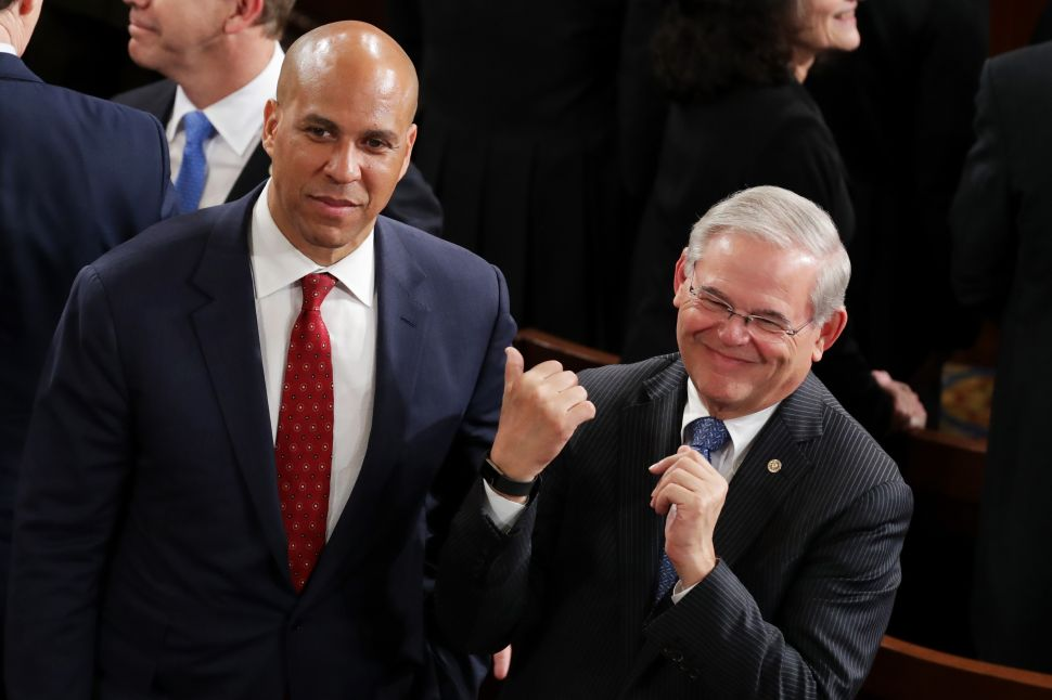 Booker: 'New Jerseyans Need Bob in Washington'