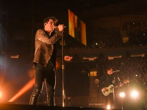 Panic! At The Disco last night at Madison Square Garden.