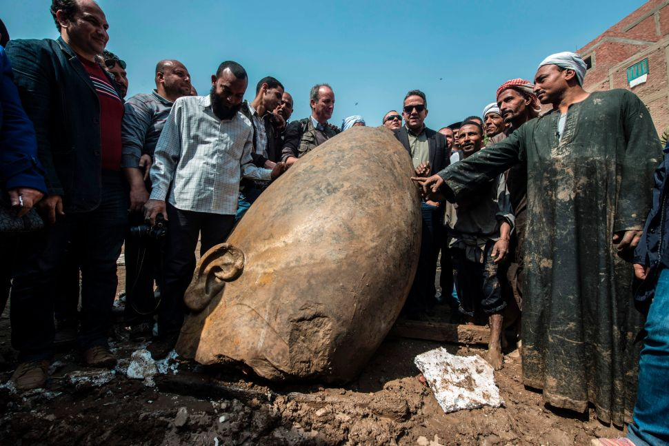 Why Experts Are Buzzing Over the Discovery of This 3,000-Year-Old Egyptian Statue