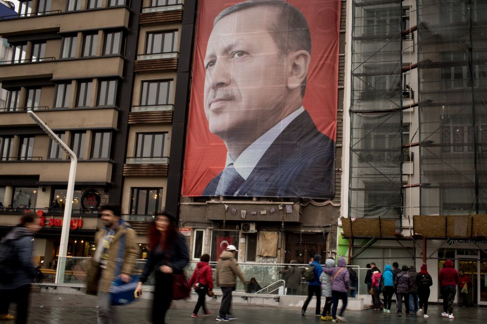 The Irony: Turkish President Cries 'Nazi' While Justifying Domestic Purges