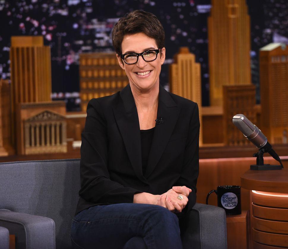 Rachel Maddow Blames Viewers for Trump Tax Return Flop