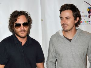 Joaquin Phoenix and Casey Affleck.