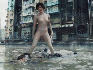 Scarlett Johansson as Major.