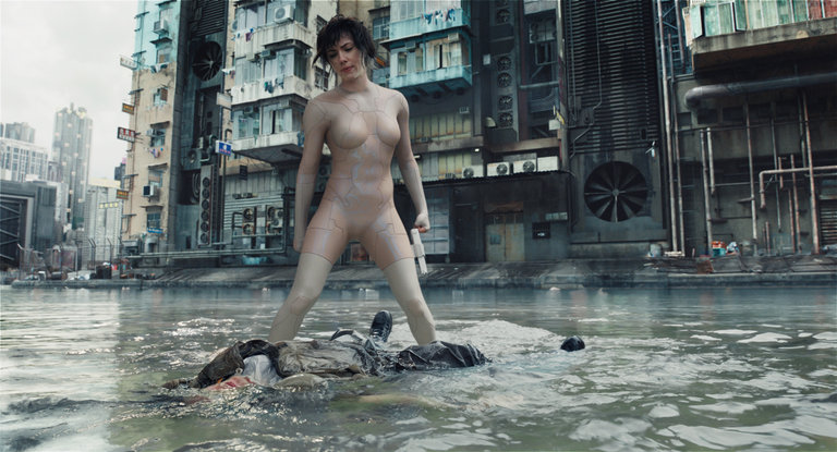 Weaponized: ScarJo Kills and Kills Again in a Homogenized 'Ghost in the Shell'