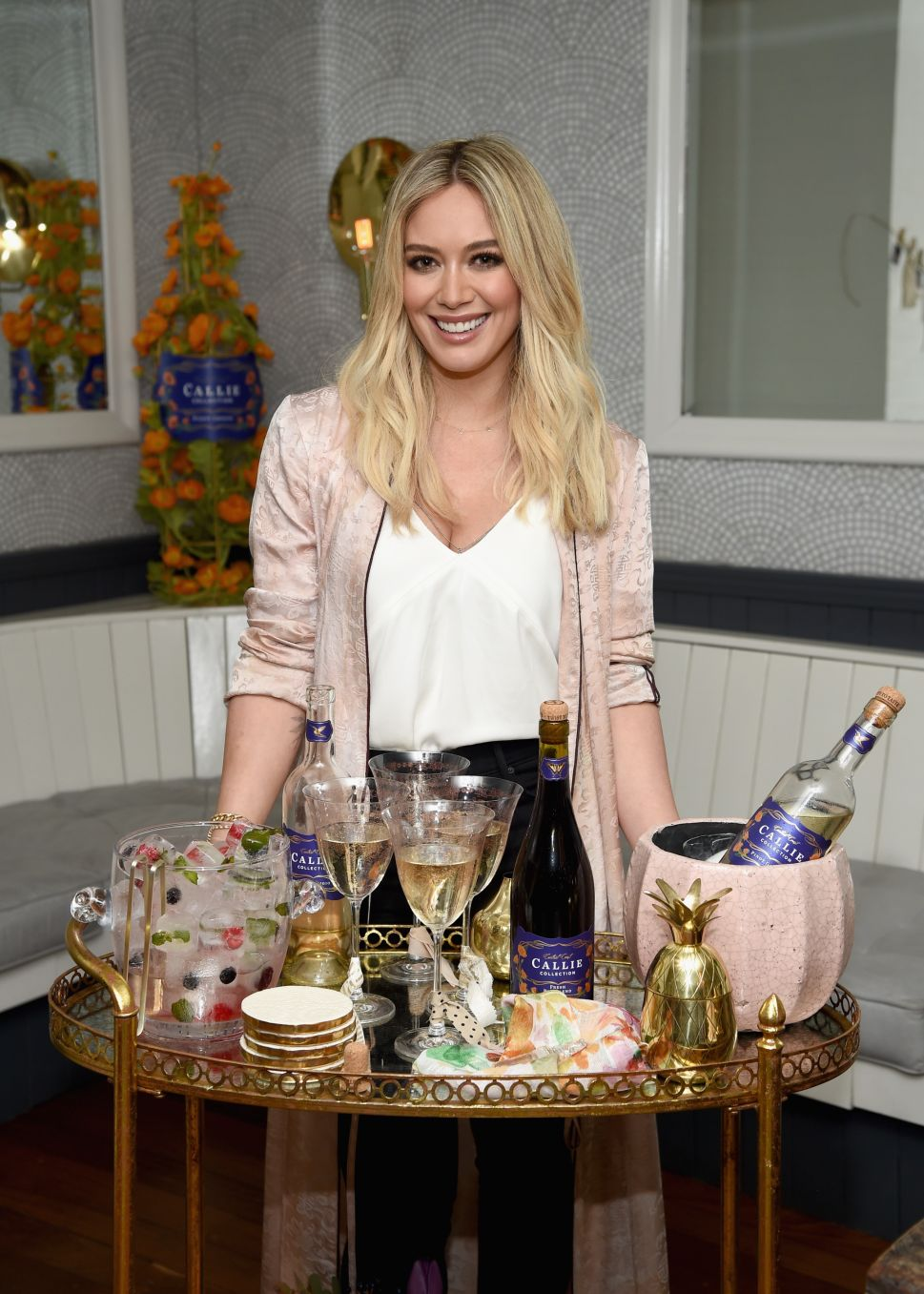 Hilary Duff's Wine Launch Was What Dreams Are Made Of
