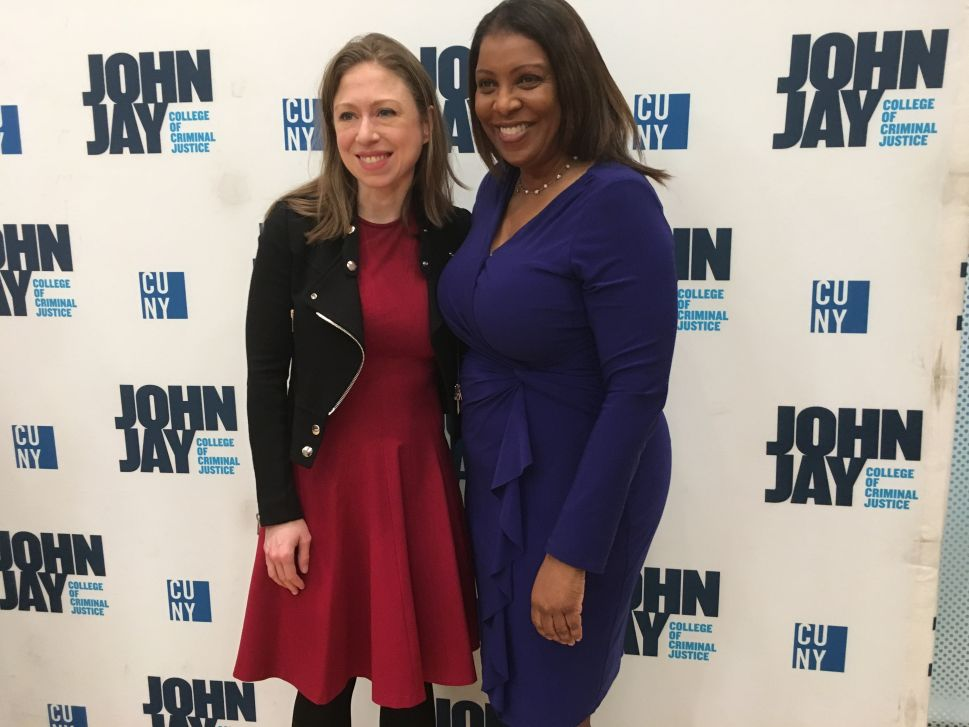 Chelsea Clinton Gets Behind Push for Equal Pay Legislation in NYC