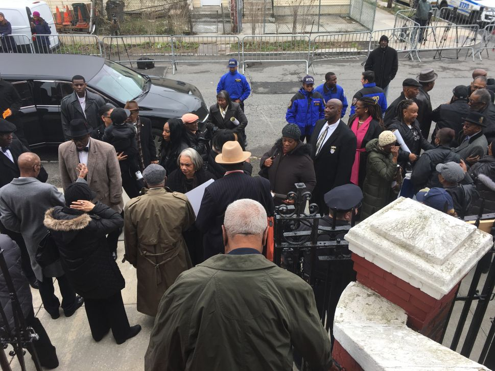 'Your Life Mattered'—Pols and Family Honor Timothy Caughman and Blast Hate