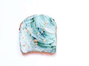 Adeline Waugh's creation: the Mermaid Toast
