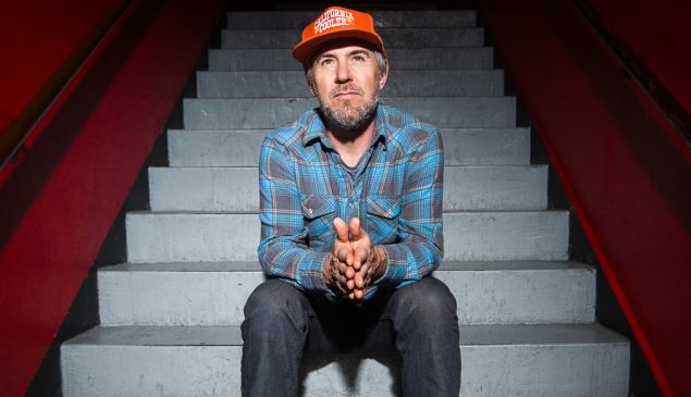 Jason Lytle,lead singer of Grandaddy. Shot on location at Le Poisson Rouge, NYC
