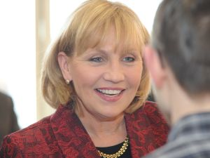 Lt. Gov. Kim Guadagno at the Bergen County Republican Organization convention.