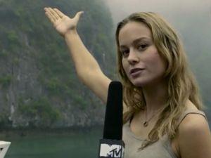 Brie Larson in Kong: Skull Island.