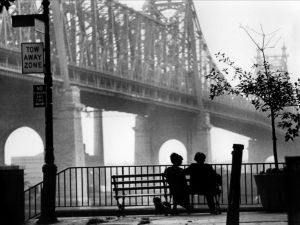 The three main characters in Annie Hall: Keaton, Allen and the city of New York.