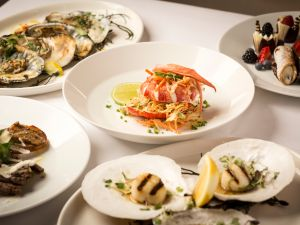 A selection of dishes at Greenwich Steakhouse.