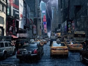 Climate fiction: A novel describes New Yorkers keeping on even after 50 feet of sea-level rise next century.