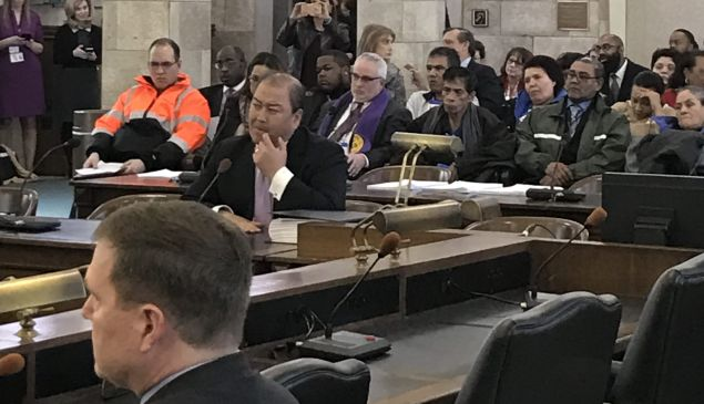 Senator Kevin O'Toole, snapped at the exact moment his colleagues on the judiciary committee voted 10-1 to approve his nomination to serve on the board of the Port Authority.