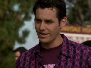 Actor Nicholas Brendon in Buffy the Vampire Slayer.