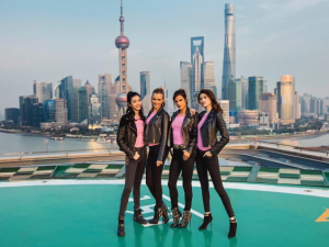 Victoria's Secret Angels in Shanghai.