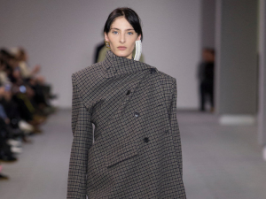 This asymmetrical coat could be yours!