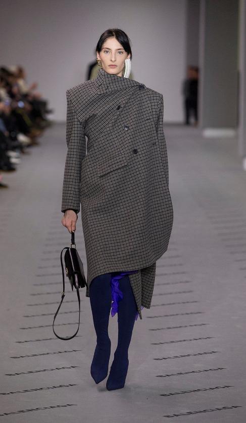 You Can Now Pre-Order Balenciaga's Off-Kilter Fall Coats