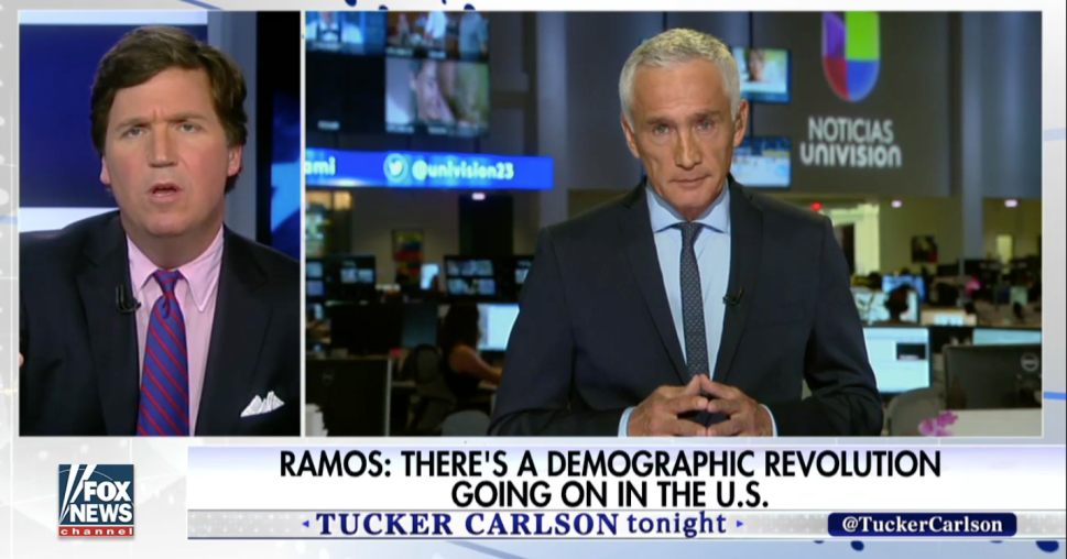 Fox News' Fratty Host to Univision Anchor: 'You're Whiter Than I Am'