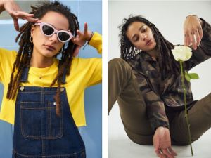 Sasha Lane for Vans x Urban Outfitters.