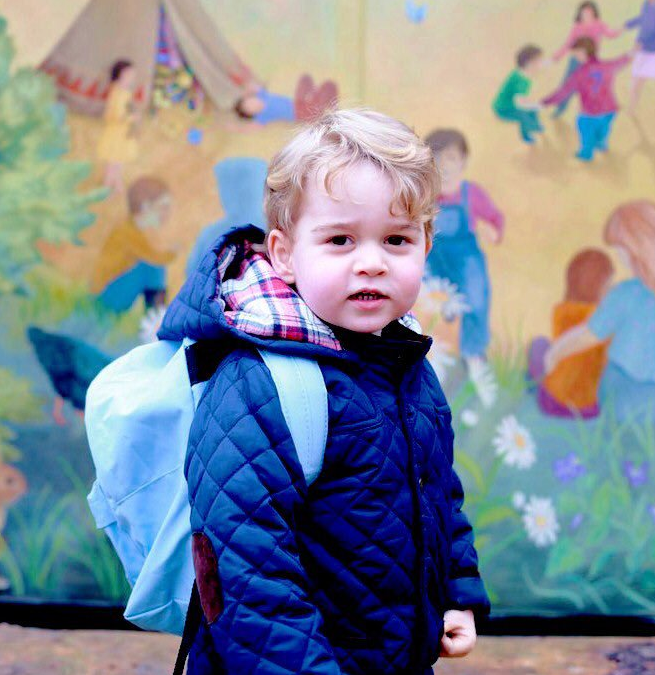 In a Surprisingly Controversial Move, Prince George Is Switching Schools