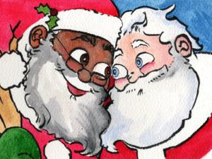 Concept art for 'Santa's Husband'