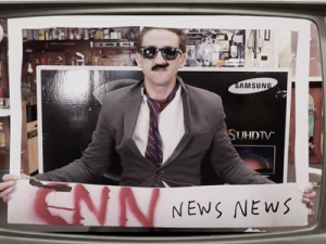 Casey Neistat, when announcing the deal to his YouTube channel in November 2016, then joked that his new job at CNN probably wouldn't just be reading the news.