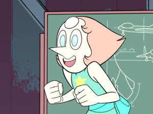 Pearl from Steven Universe.