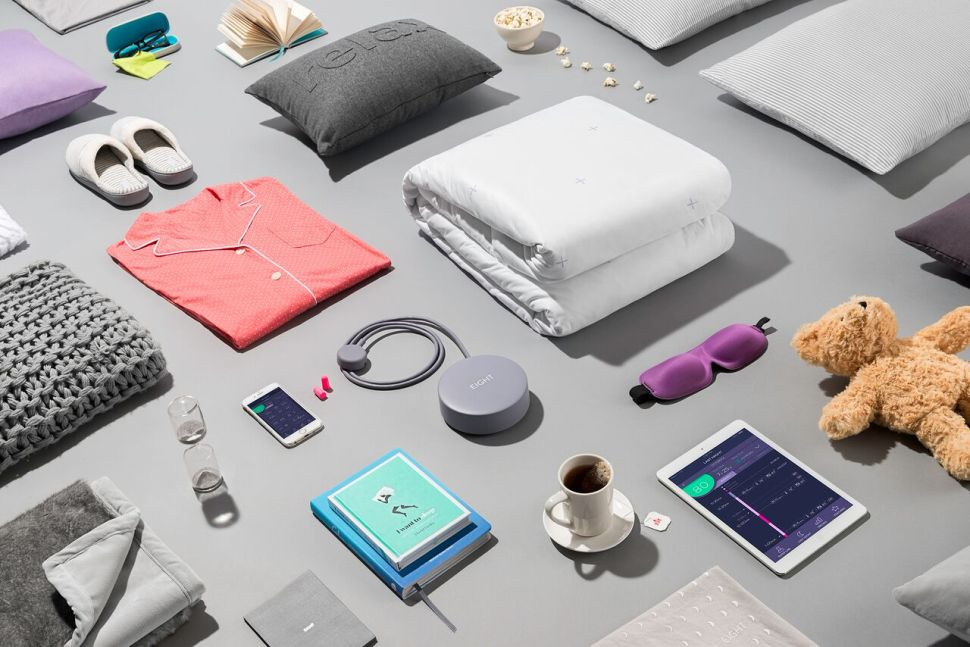 This 'Smart House' Mattress Warms Your Bed and Brews Your Coffee