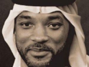 A redditor's rendering of Will Smith as a Muslim.
