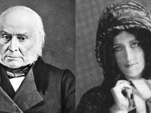 John Quincy Adams and Anne Newport Royall: interview friends forever.