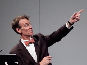 Is Bill Nye still the same science guy kids love, or just a grumpy old man?