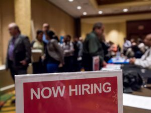 New Jersey's unemployment is now at 4.2 percent.