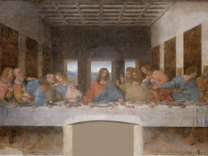 Is there a geometry lesson hidden in 'The Last Supper'?