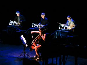 "Kronos Quartet performs at ""A Nonesuch Celebration"""