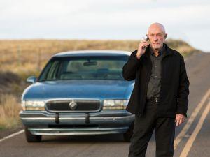 Jonathan Banks as Mike Ehrmantraut.