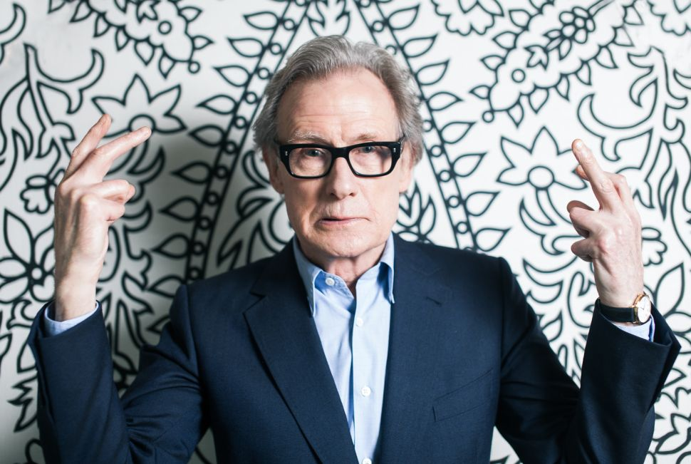 Vibrant Bill Nighy Is Still a Leading Man—Just Don't Call Him Romantic