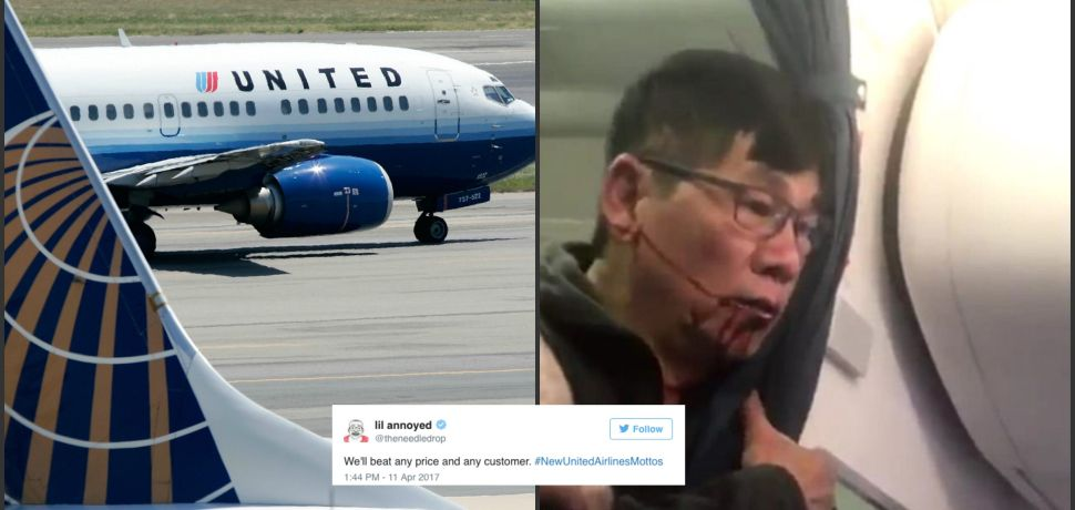People Are Coming Up With New Mottos for United Airlines—These 16 Are the Most Savage