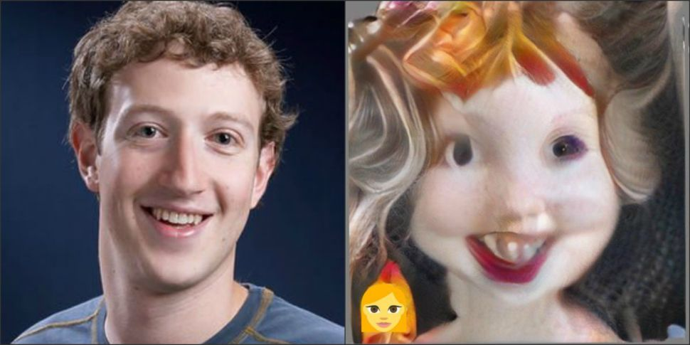 Someone Used FaceApp on Mark Zuckerberg—It Went Horribly, Hilariously Wrong