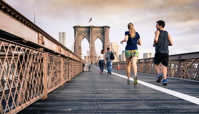 Running drops a person's risk of premature death by 25 to 40 percent
