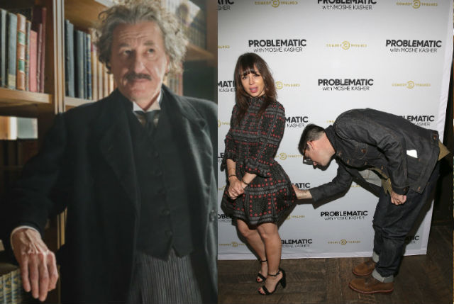 Entertaining AF: Geoffrey Rush and Moshe Kasher Week With 'Problematic' and 'Genius'