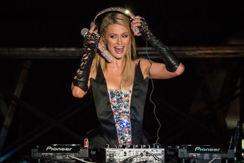 Bust Out Your Juicy Sweatsuit: Paris Hilton Is Now a Yoga DJ
