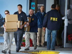 The FBI raiding Salomon Melgen's eye clinic in 2013.