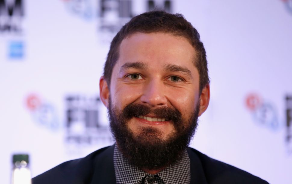 Shia LaBeouf Is Alone in the Woods Waiting for You to Text Him
