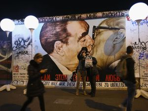 25th anniversary of the fall of the Berlin Wall on November 7, 2014.