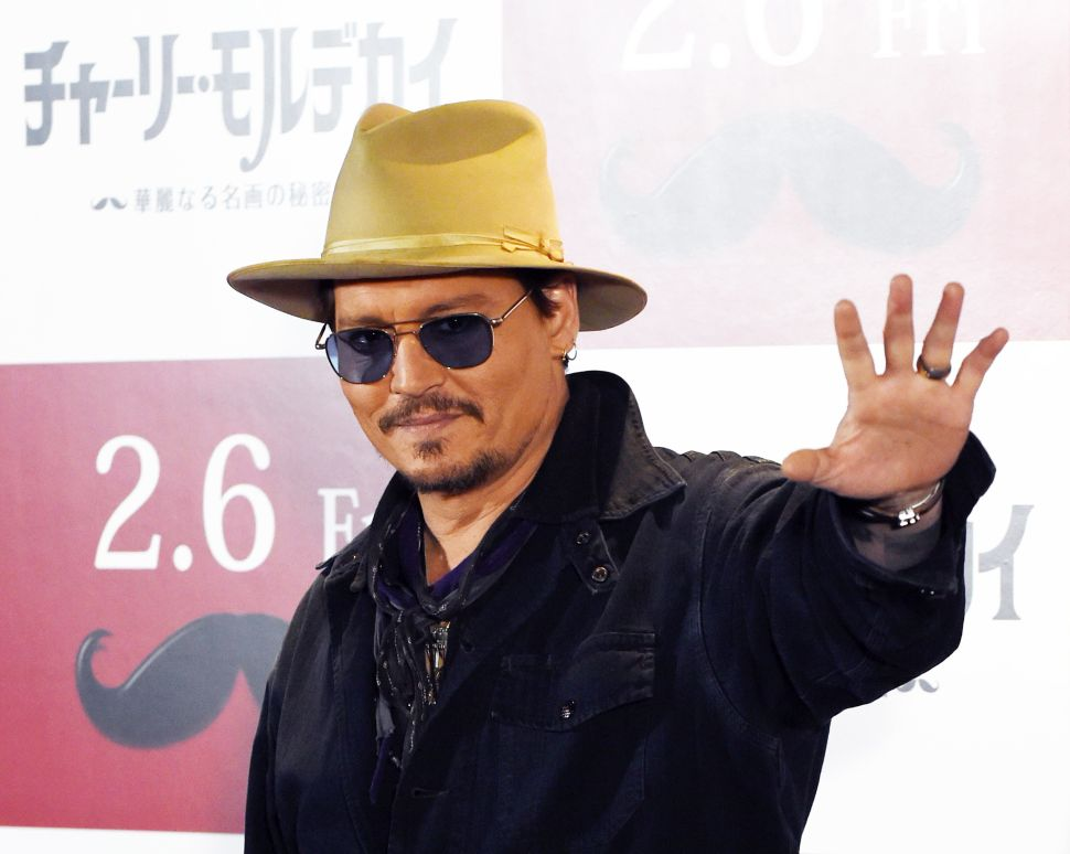Johnny Depp Is Not Sorry He Spent $5M Shooting Ashes Out of a Cannon