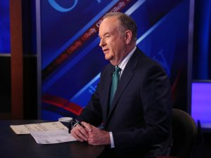 "Host Bill O'Reilly appears on ""The O'Reilly Factor"" on The FOX News Channel on March 17, 2015."