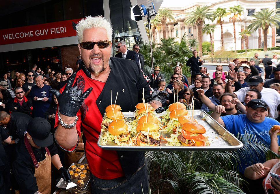 You Can Pitch a Show, Any Show at All, to Guy Fieri Right Now