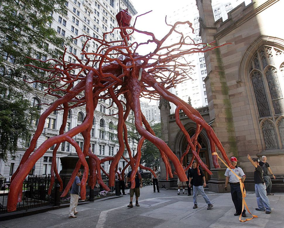 Artist Sues to Have Sculpture of 9/11 Tree Re-installed